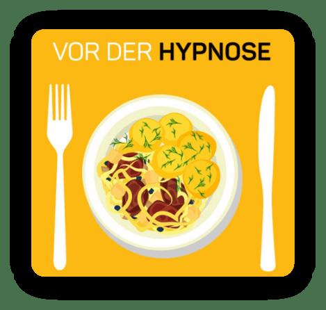 Portionen vor der hypnose